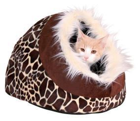 лежак пещера для кошки