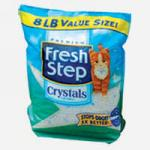 Наполнитель для туалета Fresh Step Crystals силикагель 1.81кг
