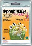 Противопаразитарное средство Фронтлайн Три-Акт S для собак 5-10кг 1х1мл